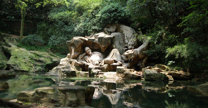 Dreaming of the Tiger Spring in Hangzhou 虎跑梦泉