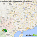 Tea Mountains Map,
